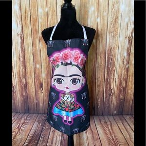 Women's Mexican Apron Fabric Frida Kahlo One Size